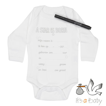 It's a Baby Romper: A Star is born!