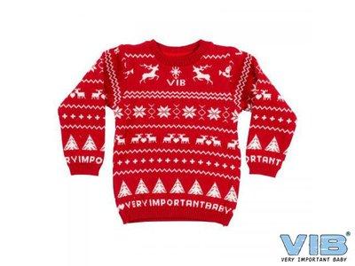 VIB Eerste Foute Kersttrui 3-6 maanden