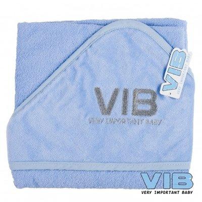 VIB Badcape blauw