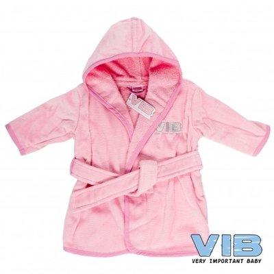 VIB Badjasje Roze (zilver logo)