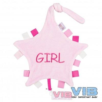 VIB Tutteldoekje Girl (roze)