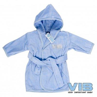 VIB Badjasje Blauw (zilver logo)