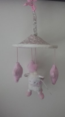 Mouton Bisous Mobiele roze