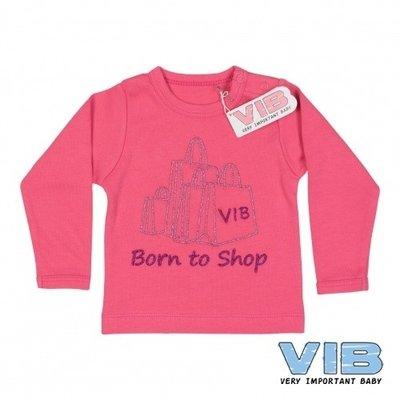 VIB Tshirt Born to shop 6 mnd