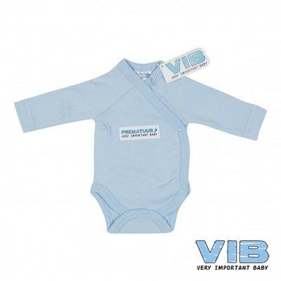 VIB Prematuur Romper blauw