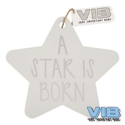 VIB Houten Bordje A Star Is Born