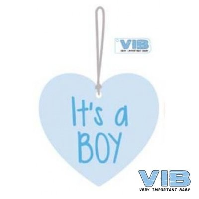 VIB Houten Bordje It's A Boy
