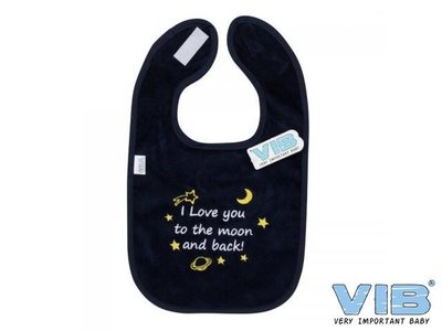 VIB Slabber I Love you to the moon and back Navy