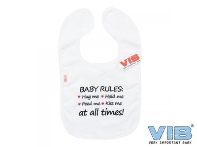 VIB Slabber Baby Rules