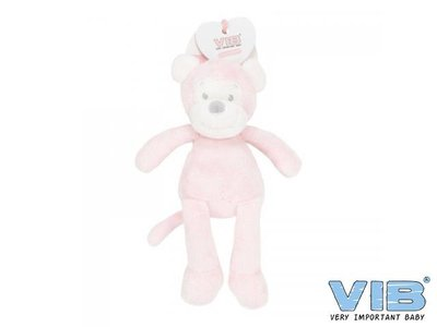 VIB Aap 35cm Roze