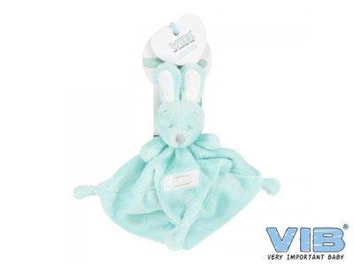 VIB pluche tutteldoekje Very Important Rabbit (mint)