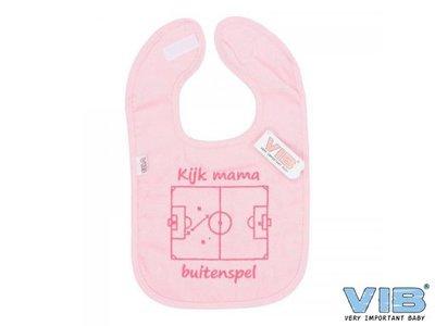 VIB Slabber Kijk Mama Buitenspel Roze