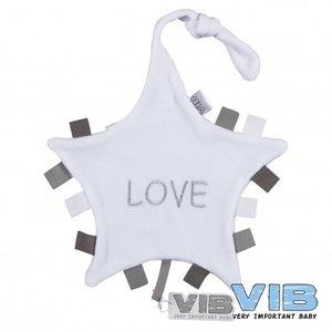 VIB Tutteldoekje Love (wit)