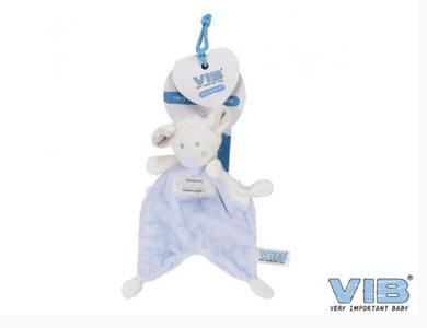 VIB Pluche muis Doudou blauw