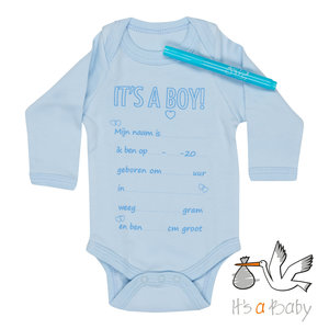 It's a Baby Romper: It's A Boy!