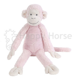 Happy Horse Monkey Mickey Roze 38cm