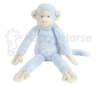 Happy Horse Monkey Mickey Blauw 38cm
