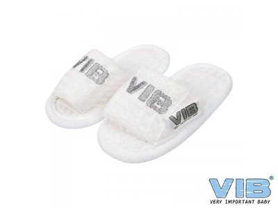 VIB Baby Slippers Wit Wafel