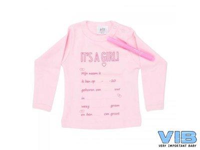 It's a Baby T-shirt: It's A Girl!